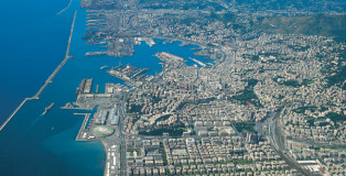 Foto litorale di Genova