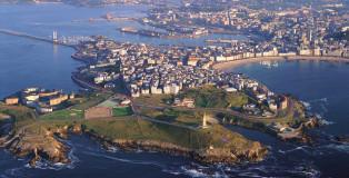 La Coruña_00_Citta porto