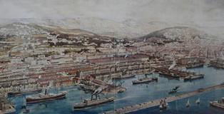 PORTUS-37-may-2019-REPORT-CAROLI-Image_00_Veduta-storica-Porto-Trieste-ev